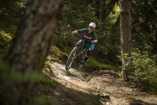 Liv Vall E+ Pro E-Bike Riding 19