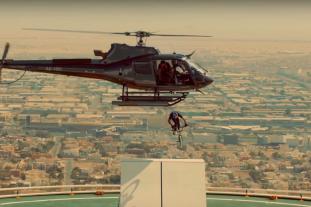 Video header Kris Kyle shreds a BMX in Dubai