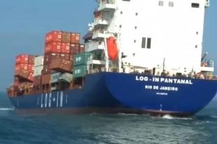 Scott bikes ship overboard 1