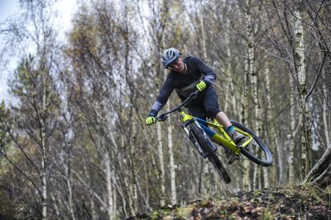 Ragley Marley 2.0 hardtail Riding Jump Detail
