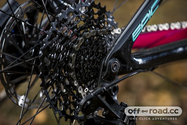 Specialized Women's Epic Carbon Comp Detail cassette
