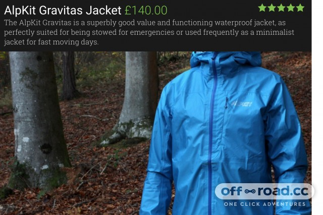 Best MTB Jackets - Alpkit Gravitas Jacket .jpg