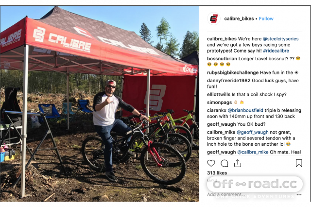 Calibre bikes Cycleshow 2018.png