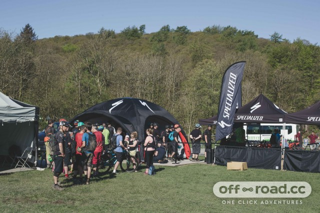Specialized Trail Days prepare to queue