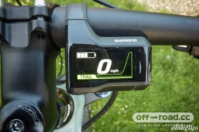 Shimano e-bike display