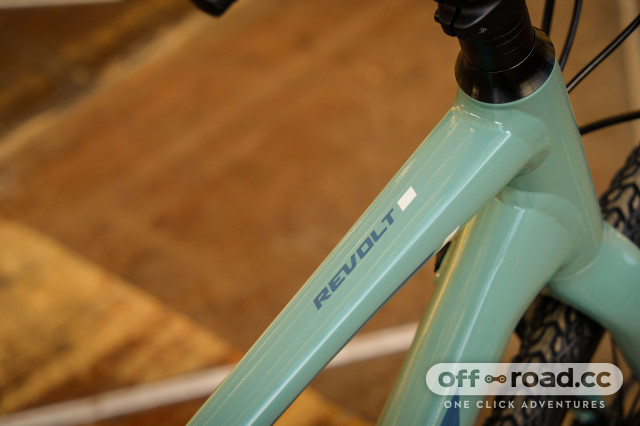 First Look: Giant Revolt 1 alloy gravel bike