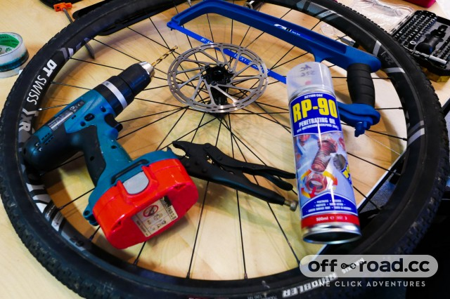 How to remove seized or rounded disc and cleat bolts from your bike
