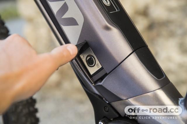Liv Vall E+ e-bike detail battery