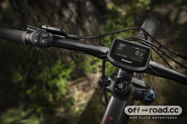 Liv Vall E+ e-bike detail display