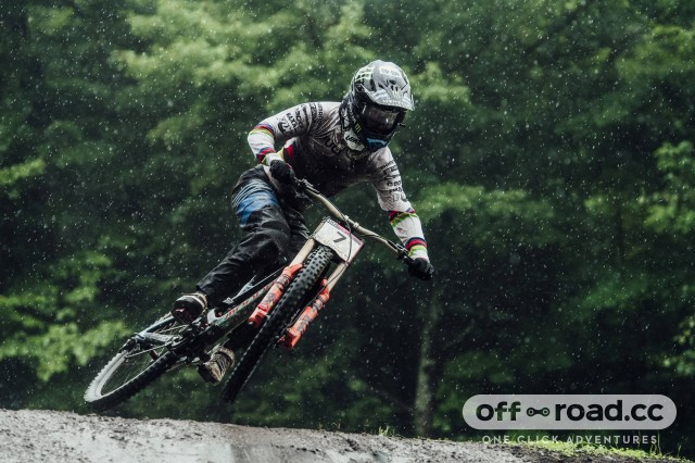 Danny Hart Downhill race