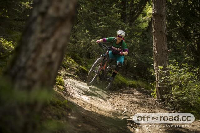 Liv Vall E+ Pro E-Bike Riding 18