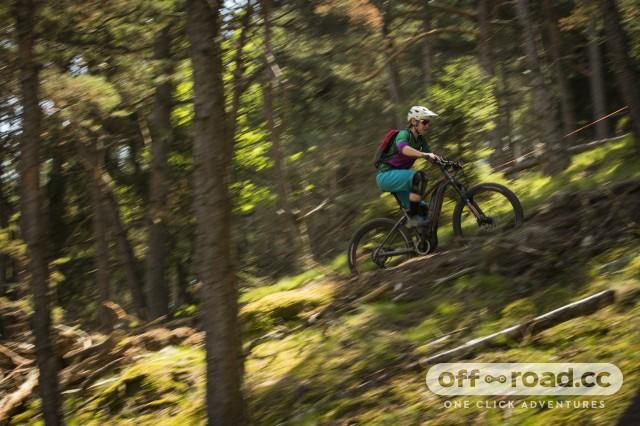 Liv Vall E+ Pro E-Bike Riding 16