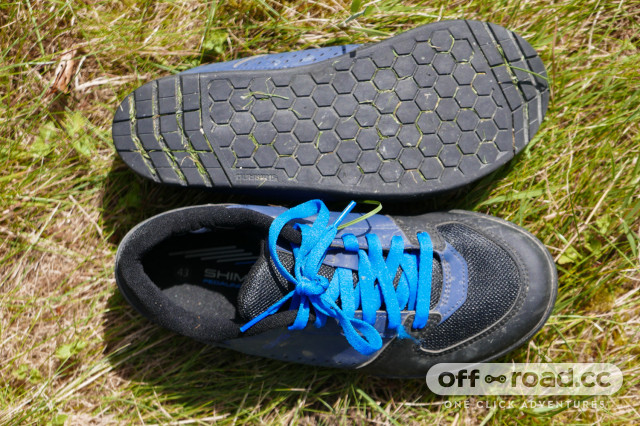 Shimano GR5 flat pedal shoes review