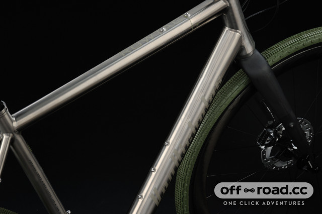 Van Nicholas launches new titanium Rowtag gravel racer - cross over,