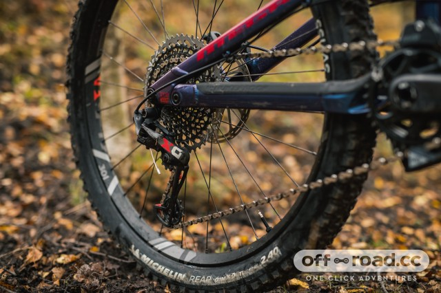 Nukeproof Mega 275 Carbon RS Detail chain stay