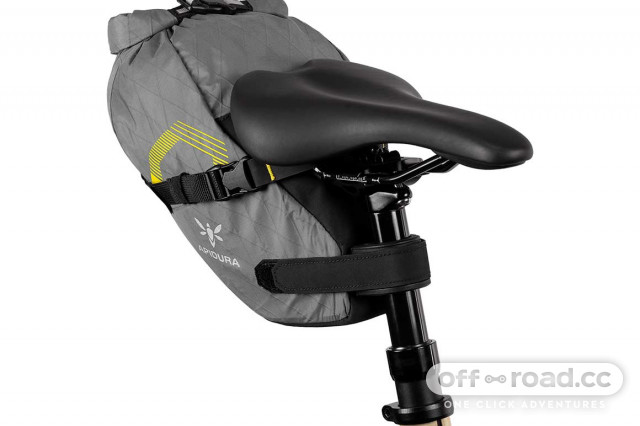 Apidura launches Innovation Lab Dropper Saddle Pack for bike packing with mountain bikes