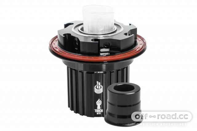 DT Swiss Freehub Body to Shimano 12-speed Micro Spline Conversion Kit