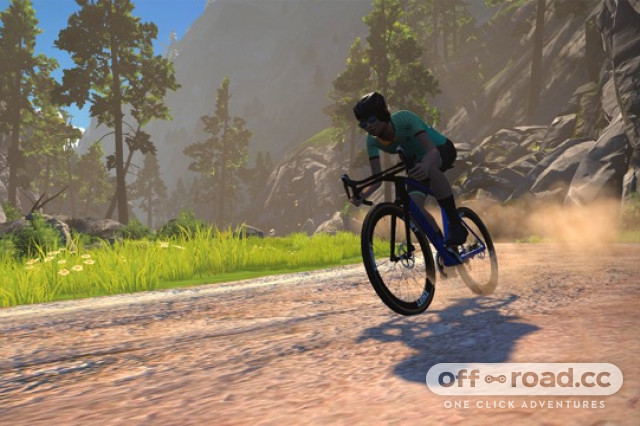 Zwift outdoor gravel