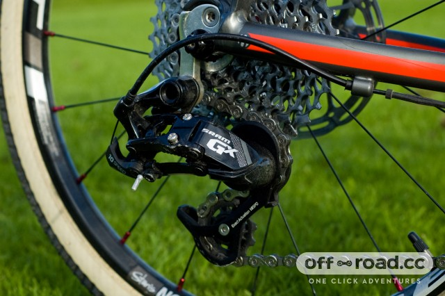 SRAM GX clutched rear mech