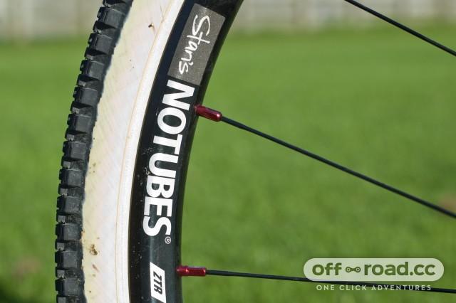 Slender spoked wheel