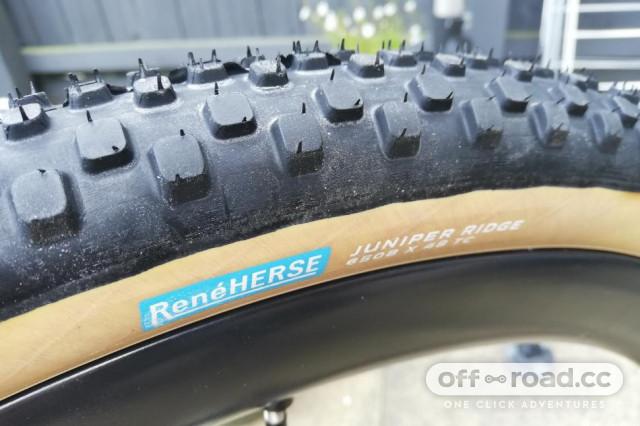 rene herse juniper ridge 650B tyre