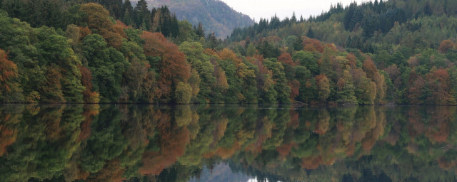 highland perthshire lake