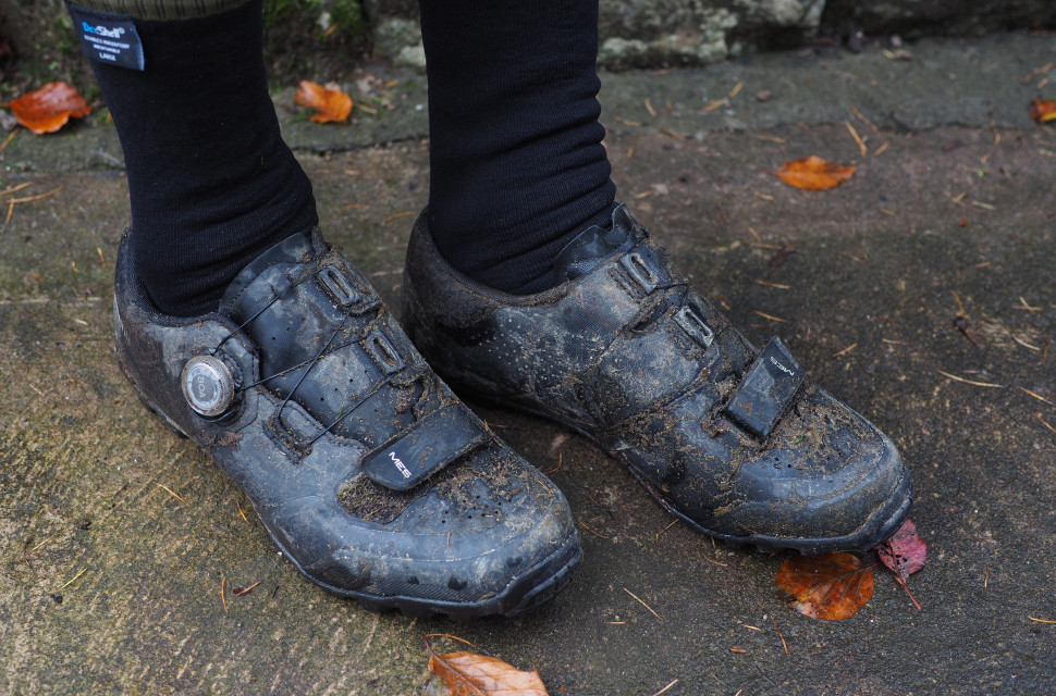 2020 Shimano ME 5 Trail shoe review side.JPG