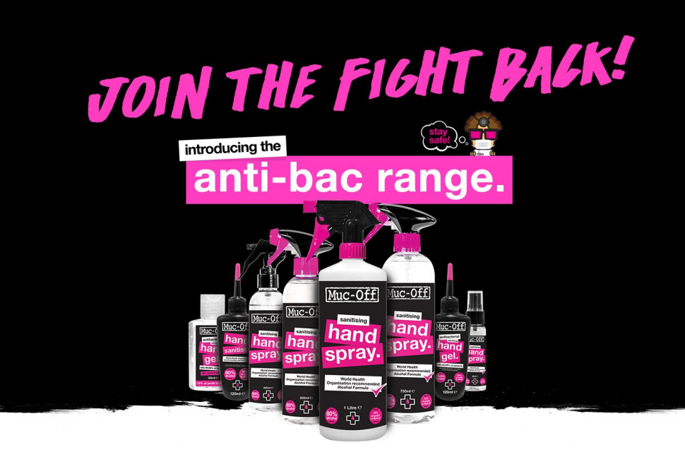 Muc-off antibacterail gel news
