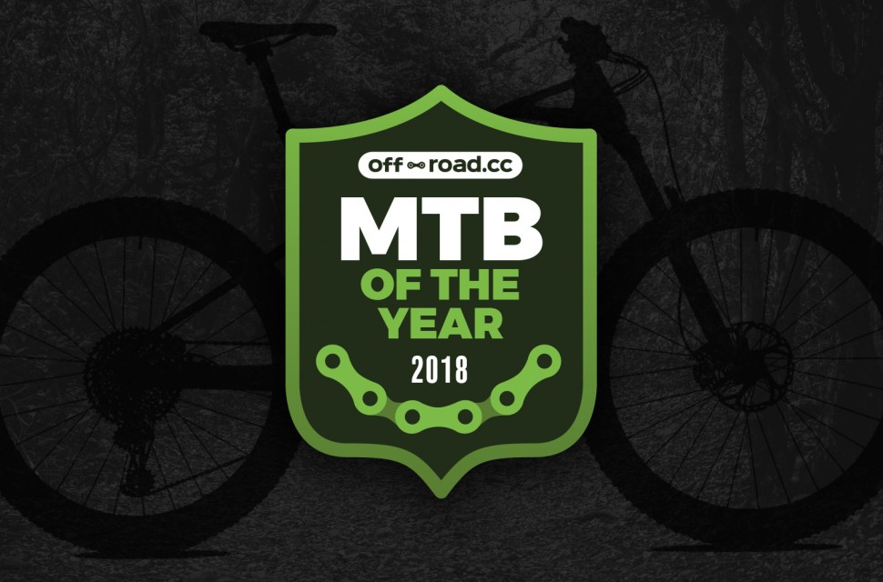 OR Awards 2018 MTB bike of the year header