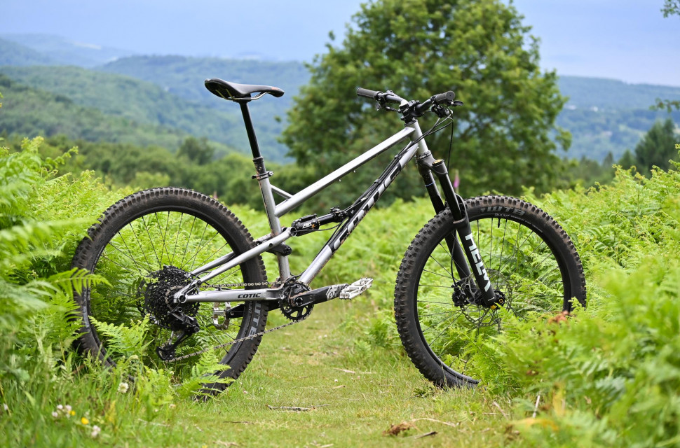 Cotic Rocket, steel full suspension, UK made, Reynolds 853, Cy Turner, Cotic Bikes, enduro mountain bike, 27.5 mountain bike, full suspension mountain bike, steel is real, off.road.cc, full review