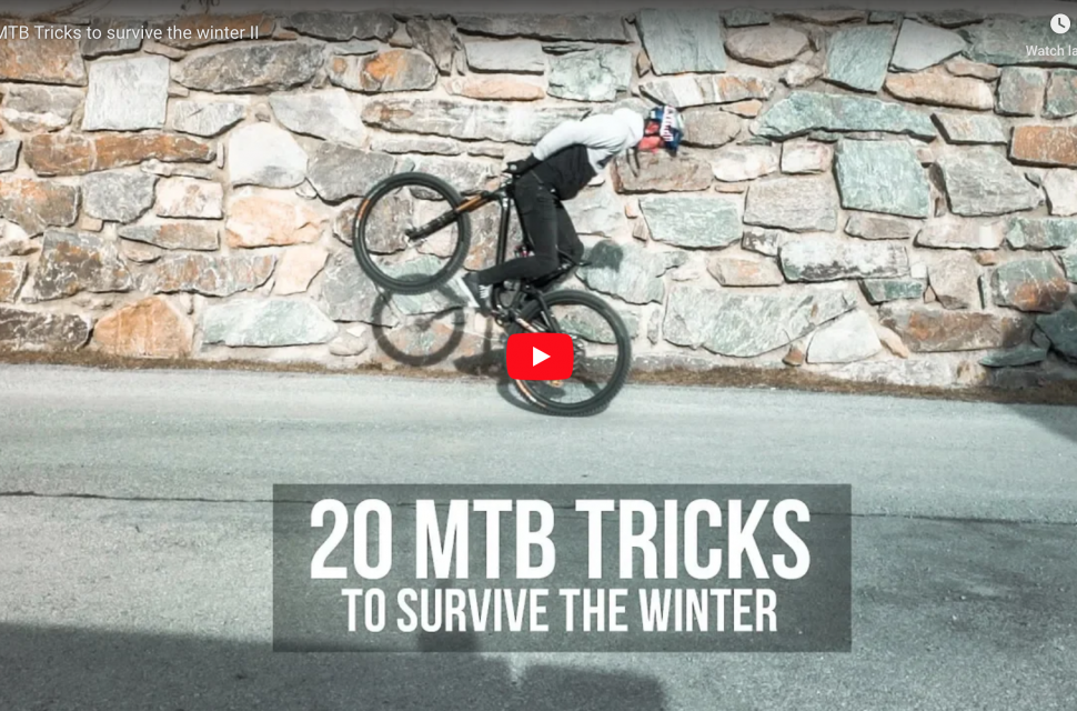Video: 20 MTB Tricks to survive the winter II header