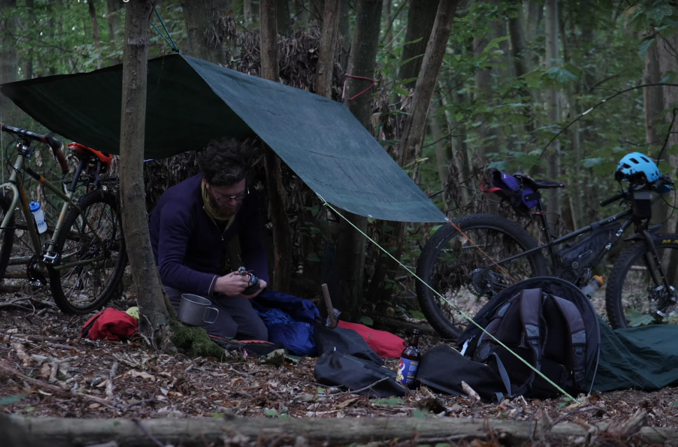 Cycling Uk bikepacking video image