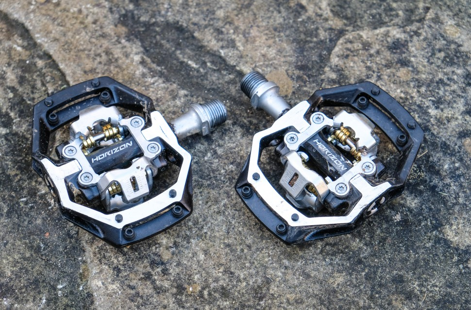 Black Nukeproof Horizon CL CroMo Pedals