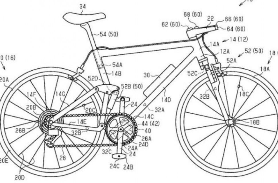 Shimano MTB control system patent