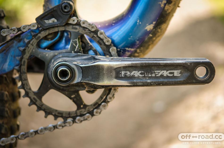 Black 2019 Unisex Adult Bicycle Crankset Race Face Next SL-170 Cranks 170 Without Case