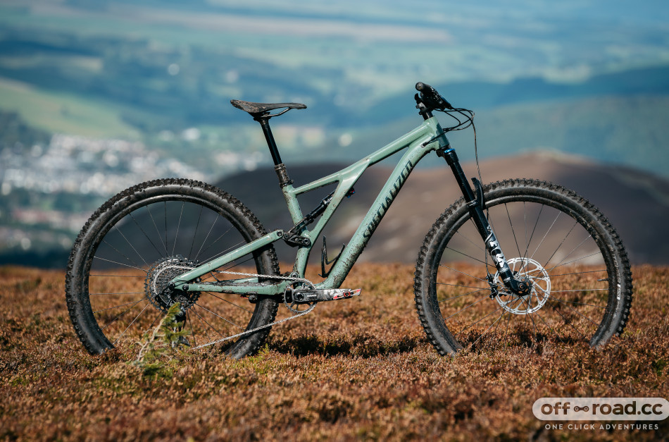 First Ride: 2021 Specialized Stumpjumper Comp Alloy, short travel and now with flex stays