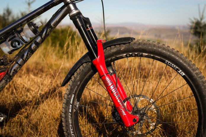 """New RockShox Pike RC Solo Air Suspension Fork 120mm Travel 29/"""" Boost 15x110mm"""