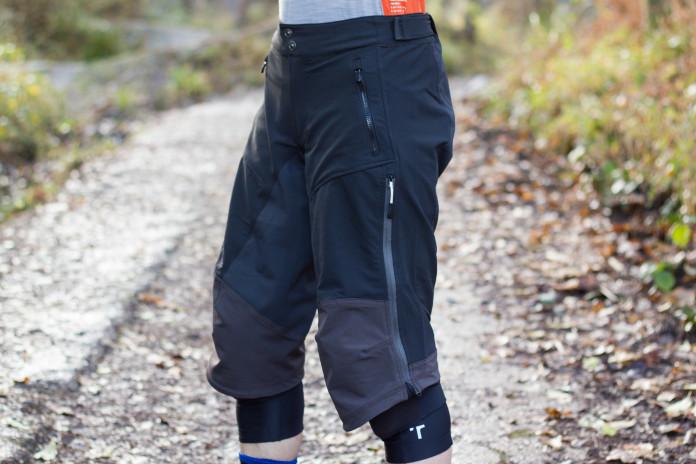 Madison Trail 3//4 Womens Cycling Shorts Black